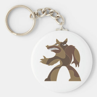 Werewolf Dude Key Chain