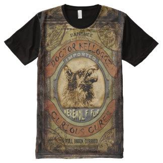 Werewolf Fur All-Over-Print Shirt