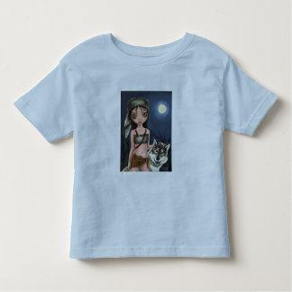 Werewolf girl toddler t-shirt