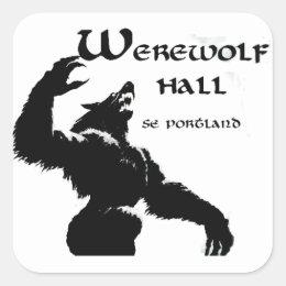 Werewolf Hall Stickers