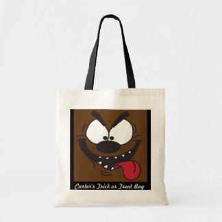Werewolf Halloween Trick or Treat Bag