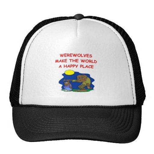 WEREWOLF MESH HAT