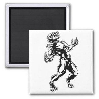 Werewolf Horror Monster Magnet