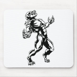 Werewolf Horror Monster Mouse Pad