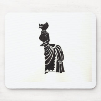 Werewolf In A Fancy Dress Mouse Pad