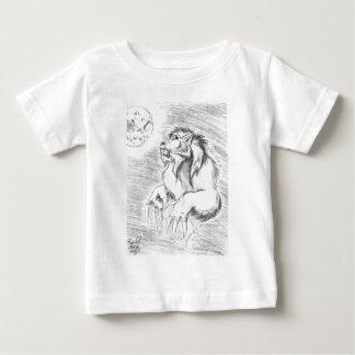 Werewolf in Pencil Baby T-Shirt