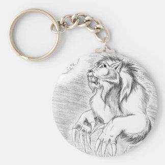 Werewolf in Pencil Keychain