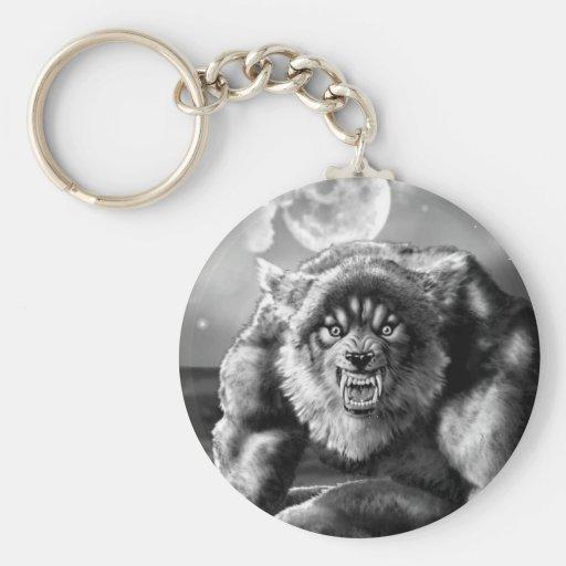 werewolf key chain
