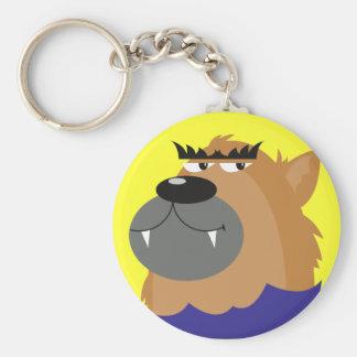 Werewolf Keychain Key Chain