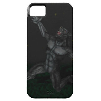 Werewolf Lycan Howling and Baying At The Moon iPhone 5 Cases