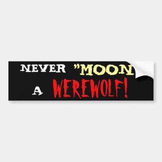 Werewolf 'Moon' Bumper Stickers