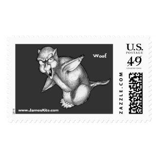 Werewolf Penguin: Woof Postage
