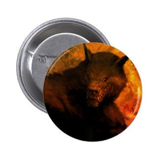 Werewolf Pin/Button 2 Inch Round Button