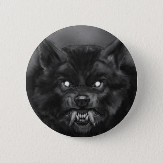 Werewolf Pin/Button Pinback Button
