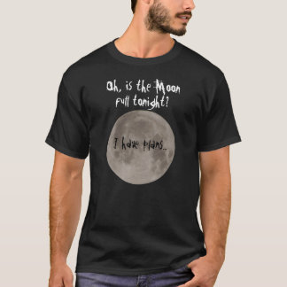 Werewolf plans t-shirt