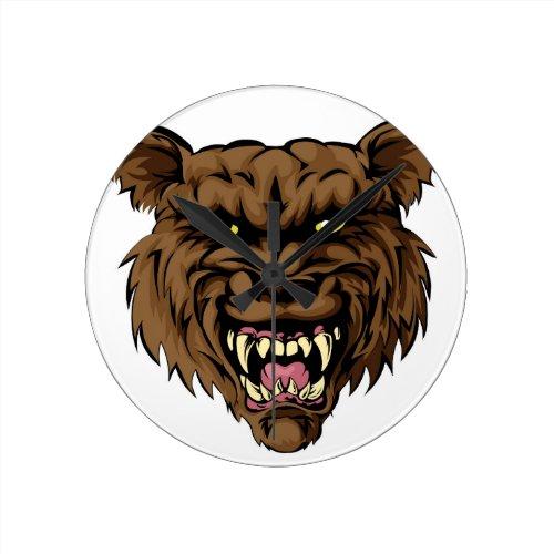 Werewolf Round Wallclock