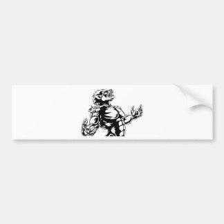 Werewolf Scary Horror Monster Bumper Sticker