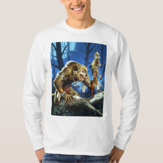 Werewolf Shaman Of The Forrest T-Shirt
