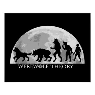 "Werewolf Theory 20"" x 16"" Value Poster Paper"
