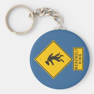 Werewolf XING Keychain