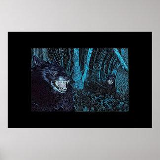 Werewolves 'Arty' Poster