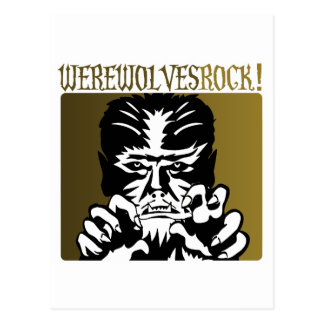 Werewolves Rock! #2 Postcard