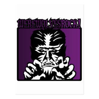 Werewolves Rock! #3 Postcard