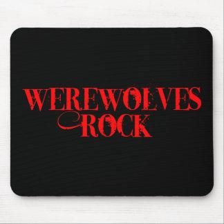 Werewolves Rock Mouse Pads