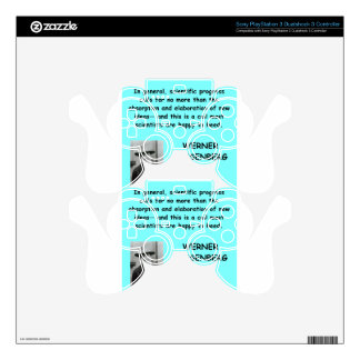 Werner Heisenberg quote PS3 Controller Skins