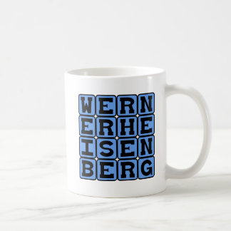Werner Heisenberg, Uncertainty Principle Classic White Coffee Mug