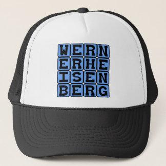 Werner Heisenberg, Uncertainty Principle Trucker Hat