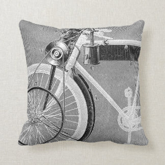 Werner Motorcycle, 1898 Pillow