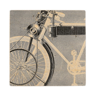 Werner Motorcycle, 1898 Wooden Coaster