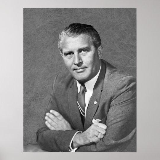 Wernher Von Braun Poster