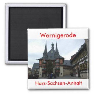 wernigerode 2 inch square magnet