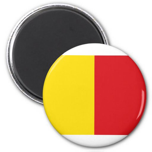 Wervik, Bélgica Imán Redondo 5 Cm