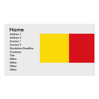 Wervik, Belgium Business Card