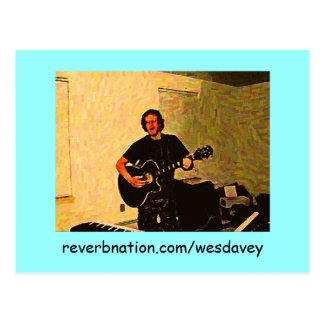 Wes Davey - reverbnation: Postcards