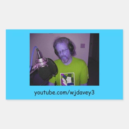 Wes Davey - Youtube-URL: Stickers