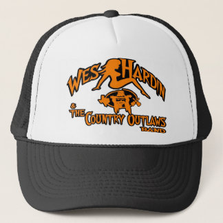Wes Hardin Country Outlaws mudflap girl truckr hat