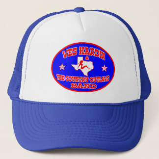 Wes Hardin Country Outlaws Trucker Hat oval logo