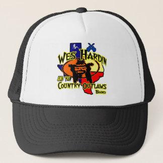 Wes Hardin New Tex logo Trucker Hat