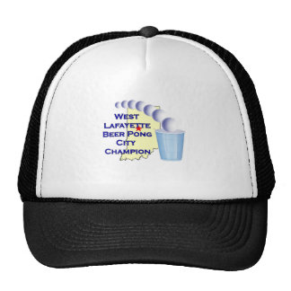 Wes Lafayette Beer Pong Champion Trucker Hat