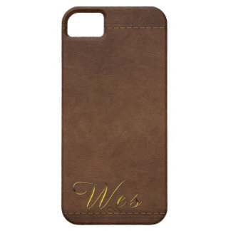 WES Leather-look Customised Phone Case