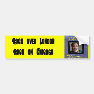 Wesley Willis lives on Bumper Sticker