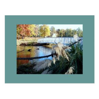 Wesleyan College Bridge Postcard