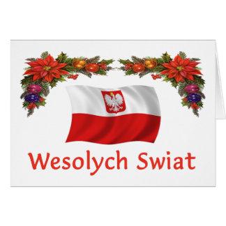 Wesolych polaco Swiat Tarjeta De Felicitación