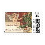 Wesolych Swiat Bozego Narodzenia Merry Christmas Stamps