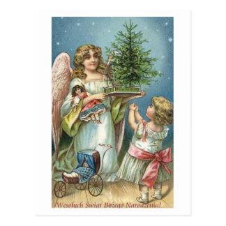 Wesolych Swiat Bozego Narodzenia Szesliwego Nowego Tarjeta Postal