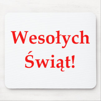 Wesolych Swiat Mouse Pad